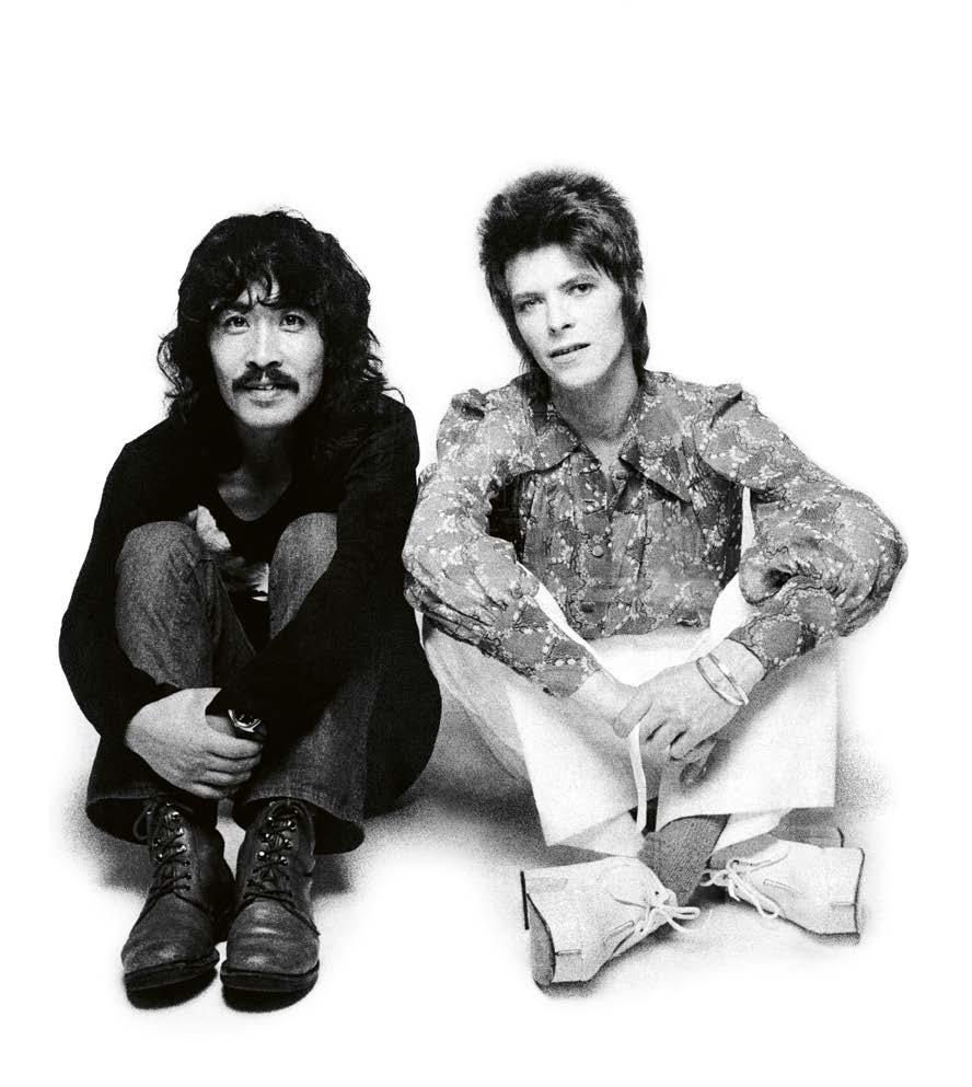Masayoshi Sukita and David Bowie