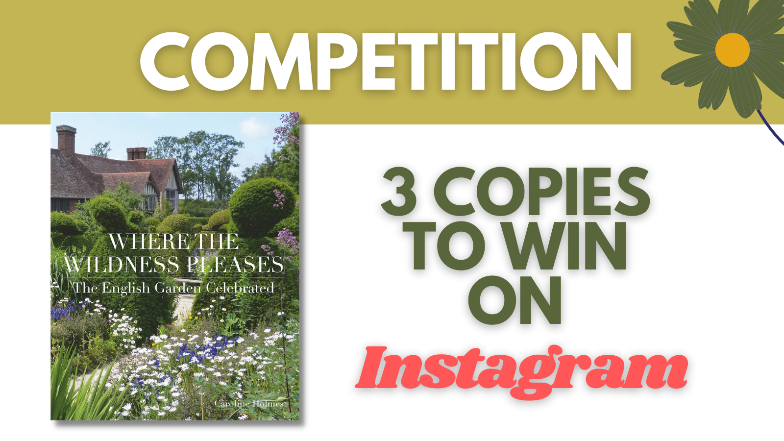 'Where the Wildness Pleases' book competition