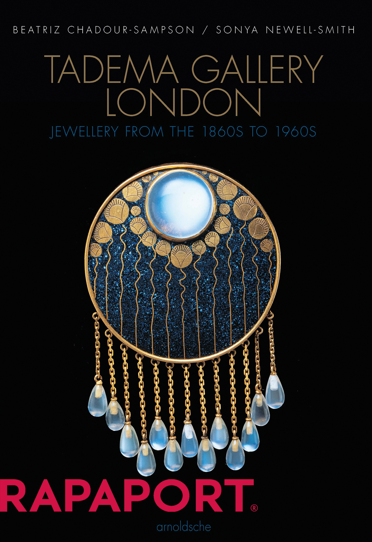 Tadema Gallery showed jewels from significant designers of the Revivalist, Art Nouveau, Arts & Crafts, Jugendstil, Art Deco, and Modernist movements.