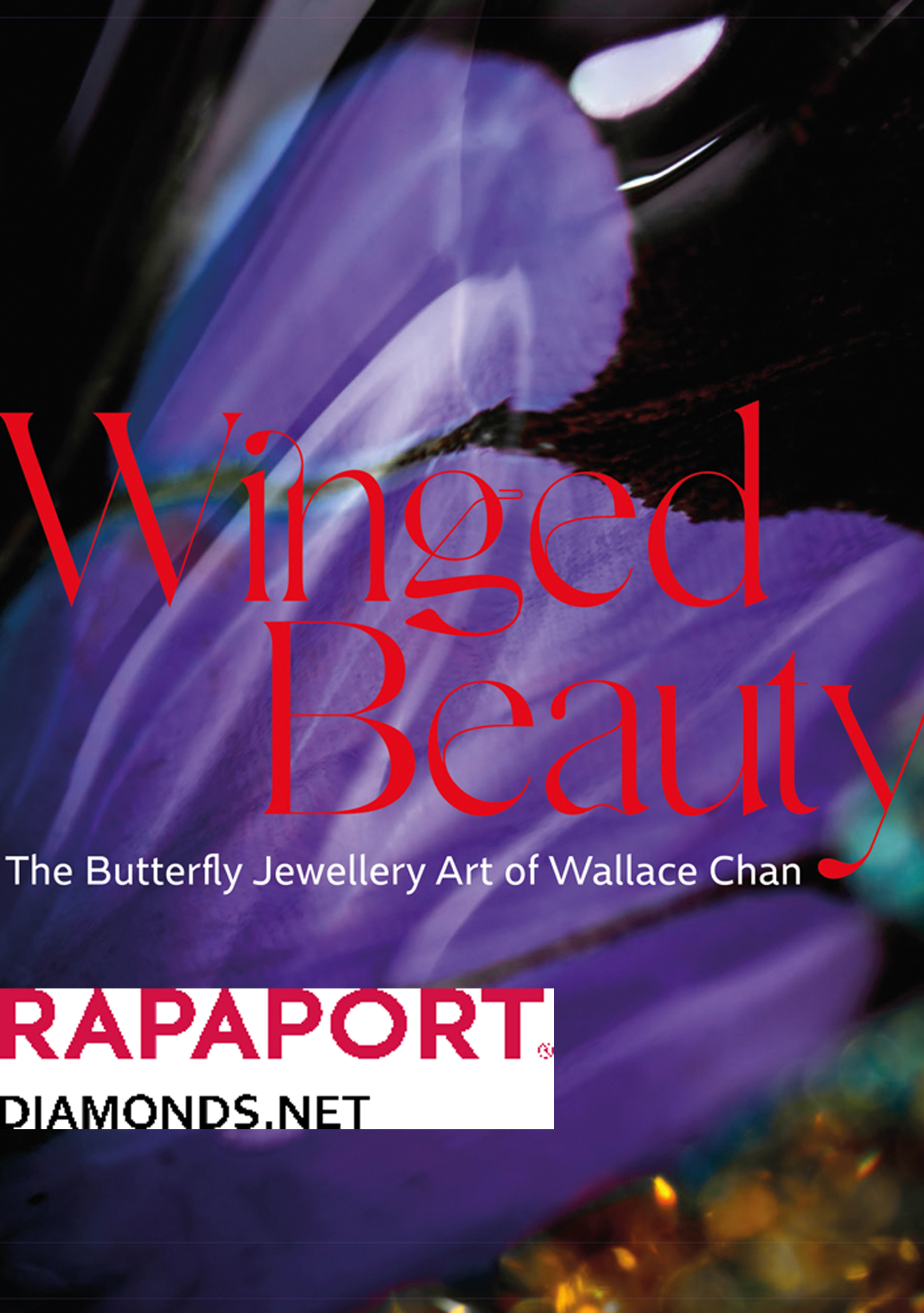 Wallace Chan: Butterflies features approximately 30 of his finest pieces. Enter a butterfly house of colourful gems, with brooches and necklaces so delicate they might have flown down and alighted on the page.