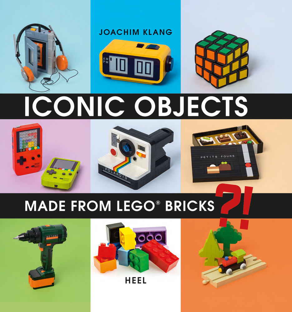 Iconic Objects Made From LEGO® Bricks