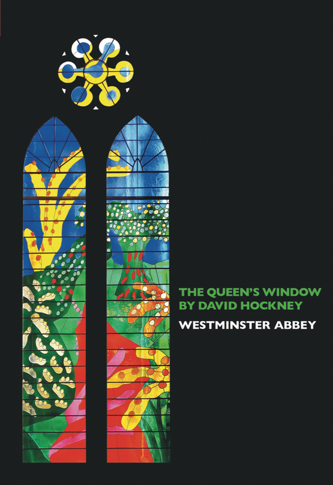 The Queen's Window by David Hockney Westminster Abbey