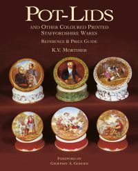 Pot-lids & Other Coloured Printed Staffordshire Ware