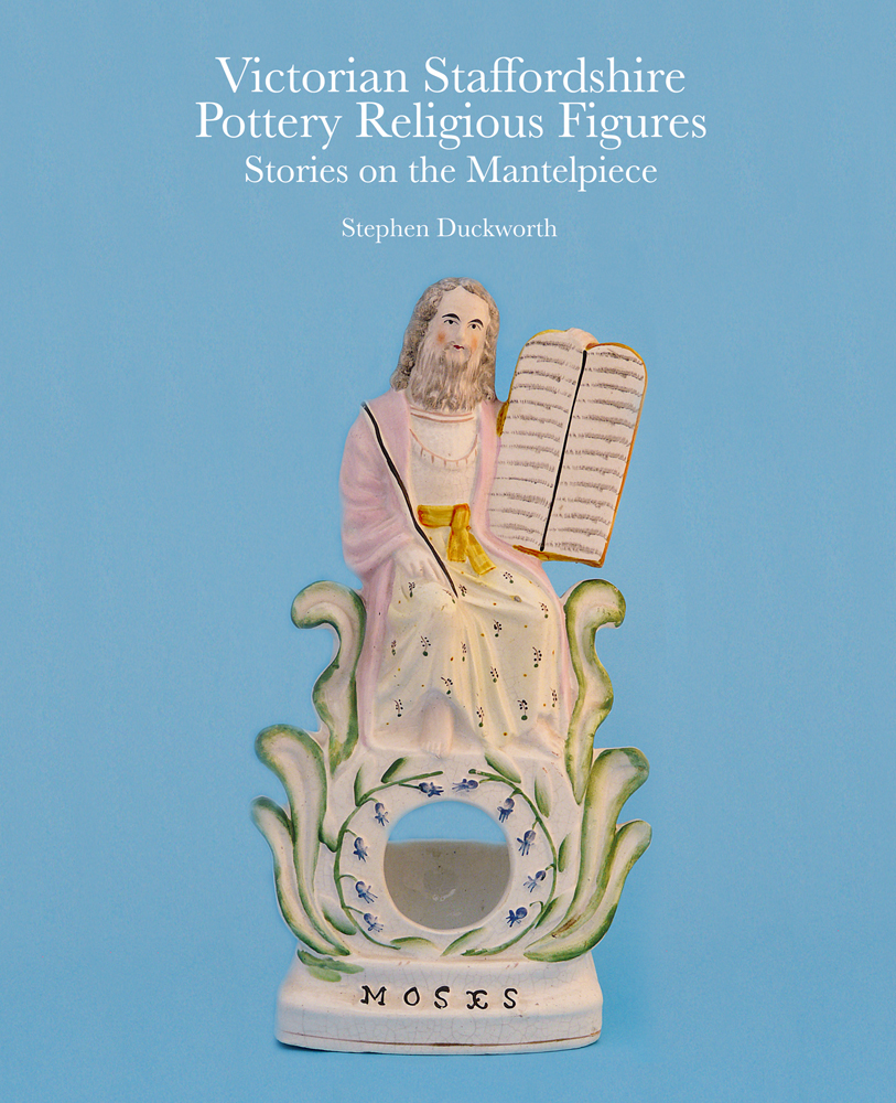 Victorian Staffordshire Pottery Religious Figures