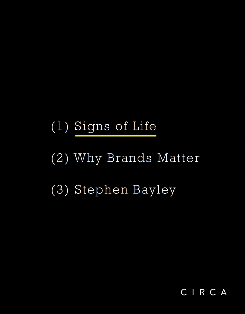 Signs of Life: Why Brands Matter