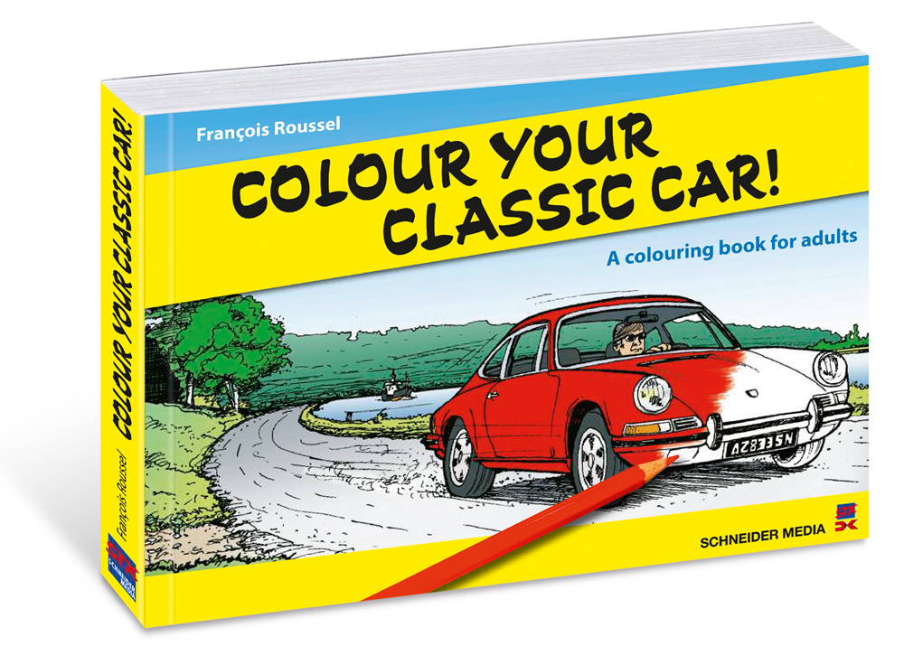 Colour Your Classic Car!