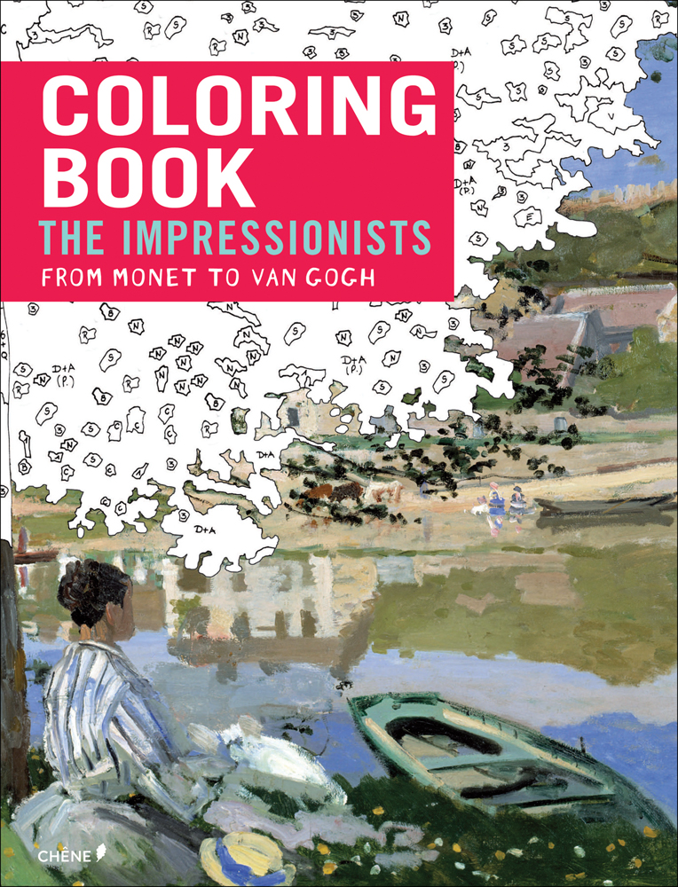 Impressionists: From Monet to Van Gogh- Coloring Book