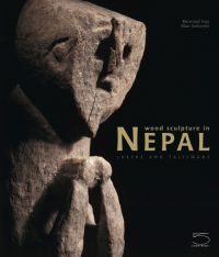 Wood Sculpture in Nepal