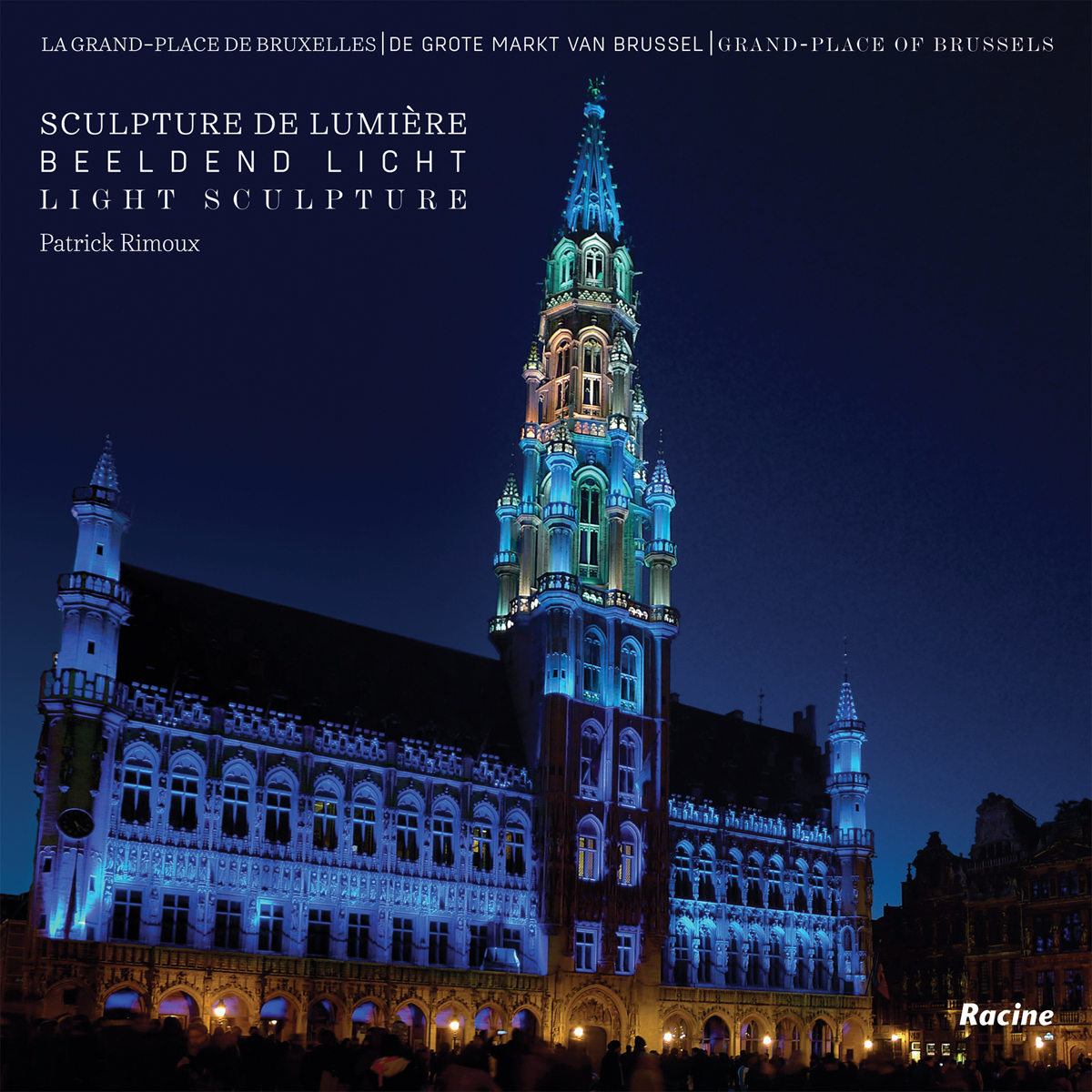 Grand Place of Brussels: Light Sculptures