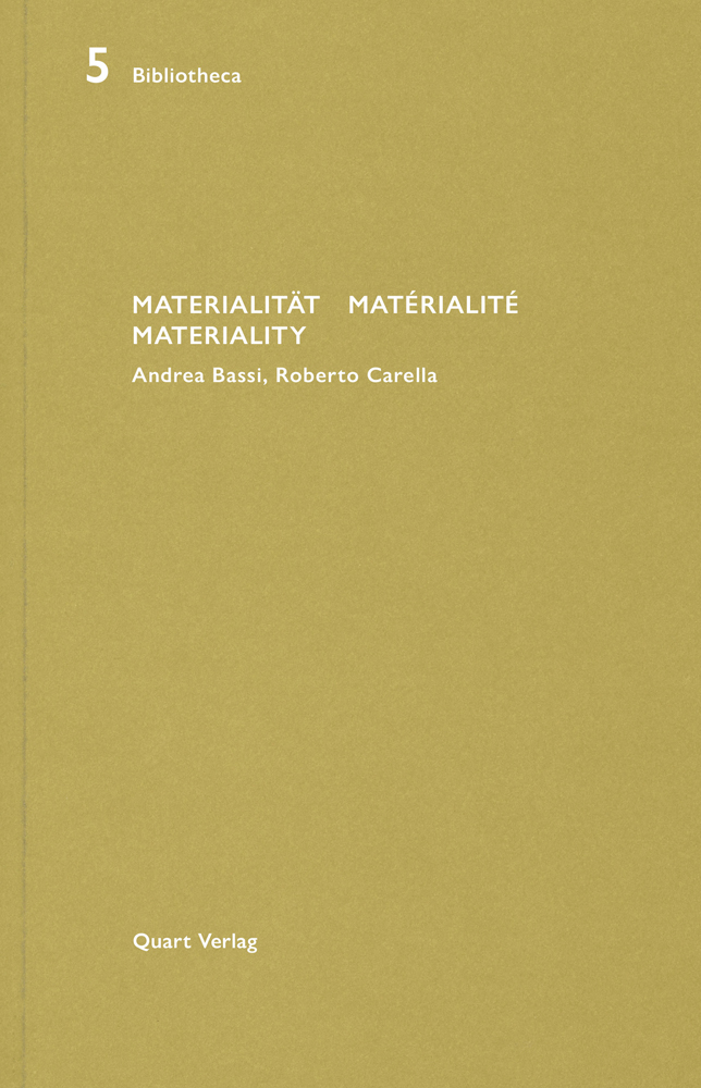 Materialitat/Materialite/Materiality