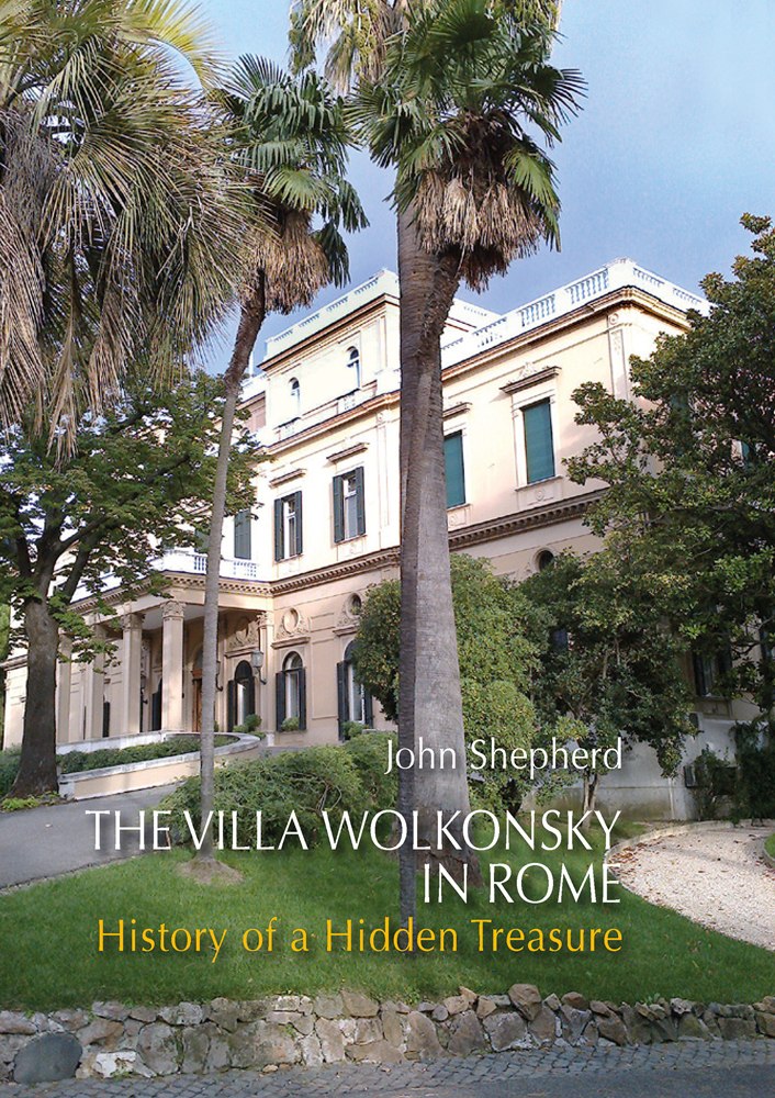 The Villa Wolkonsky in Rome