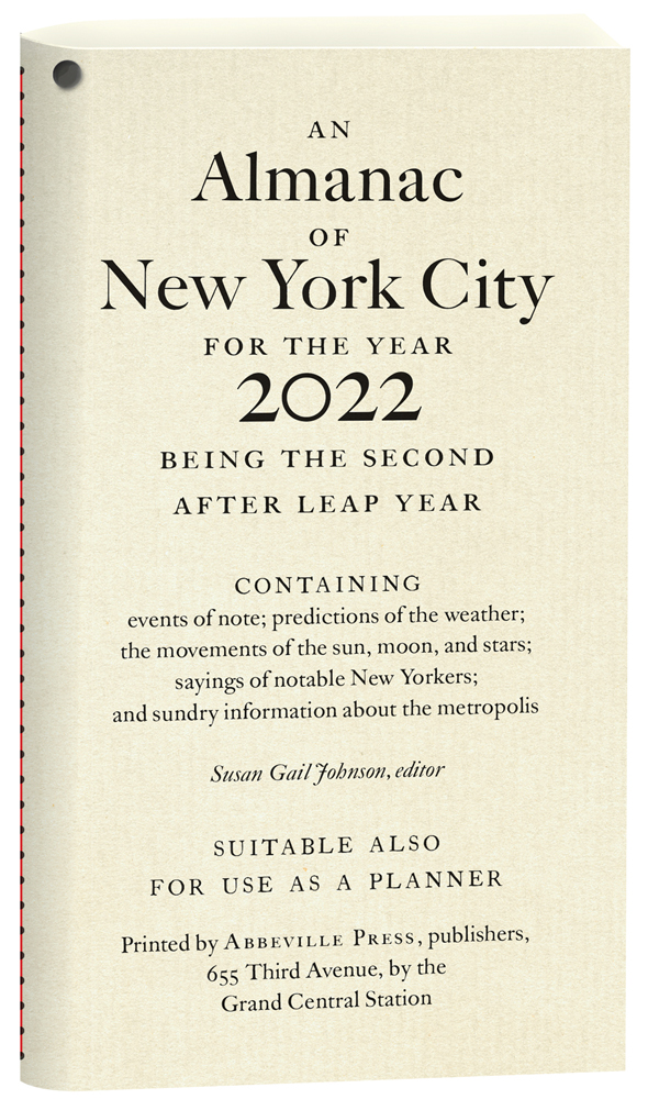 An Almanac of New York City for the Year 2022