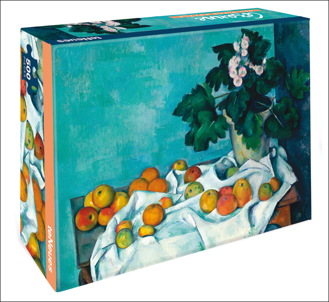 Still Life with Apple - Cezanne