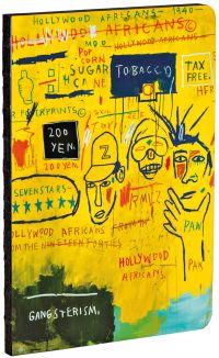 Hollywood Africans by Jean-Michel Basquiat A5 Notebook