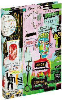 In Italian by Jean-Michel Basquiat Mini Sticky Book