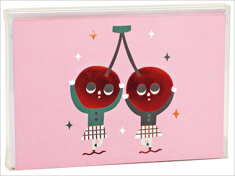 Cherry Dancers, Big Notecard Set