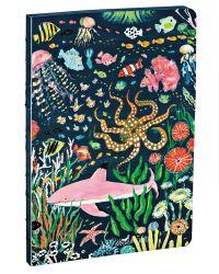 Pink Shark A5 Notebook
