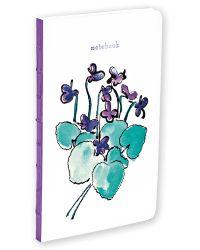 Purple Posy Small Bullet Journal