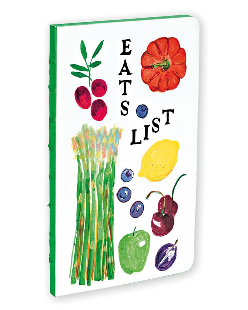 Eats List Small Bullet Journal