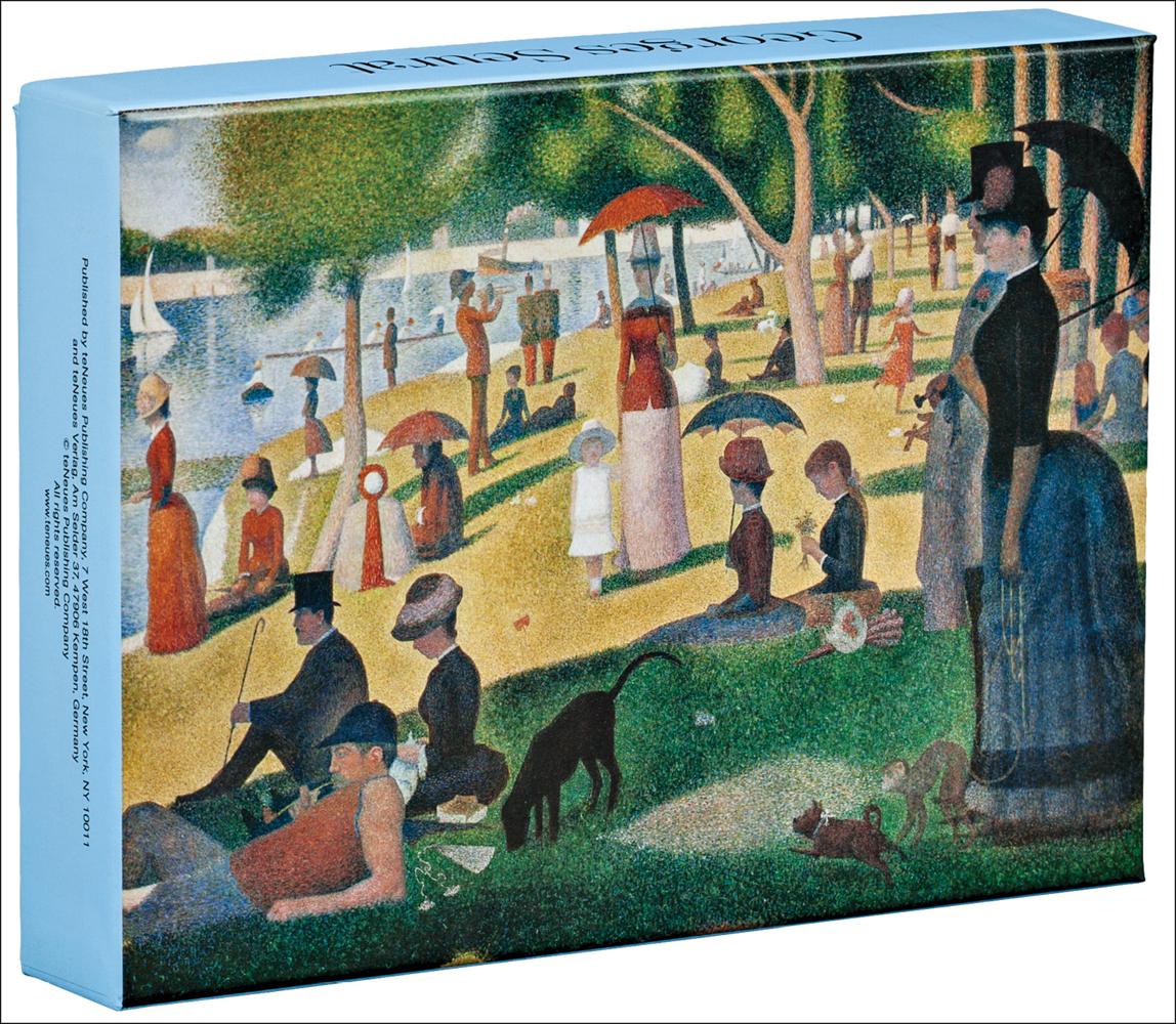 Georges Seurat Notecard Box