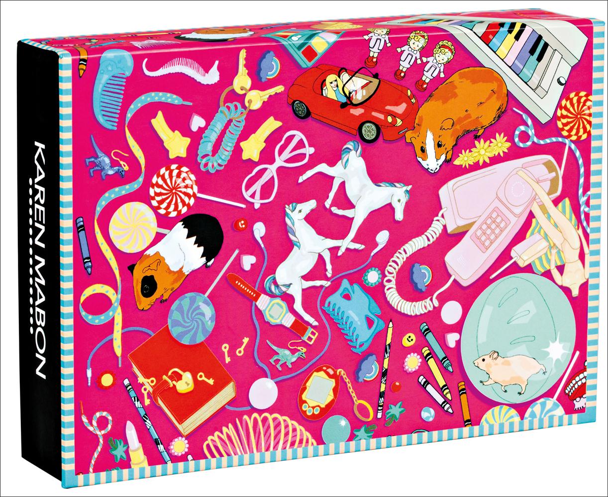 Bedroom Floor FlipTop Notecards