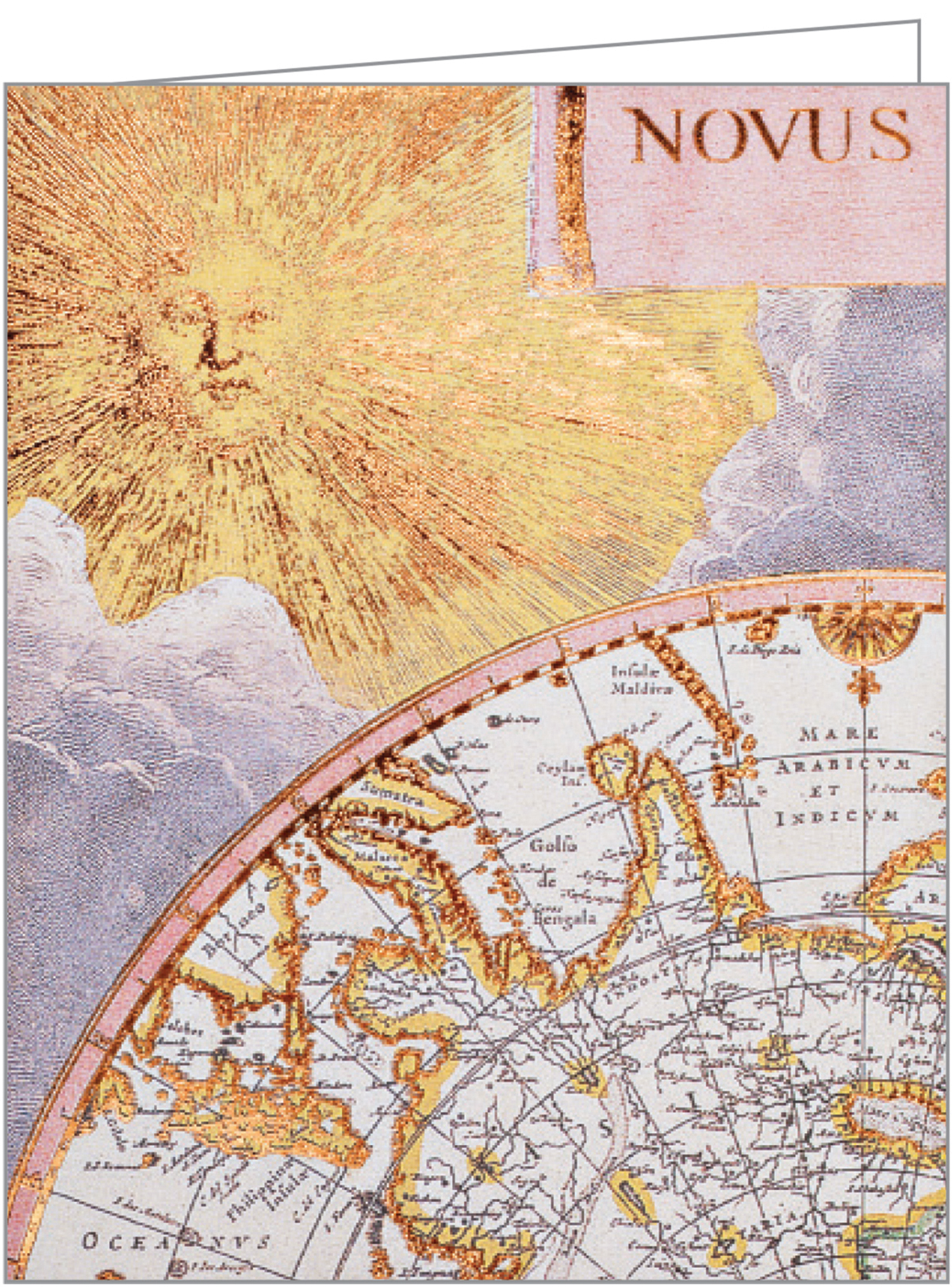 Vintage Maps GreenNotes