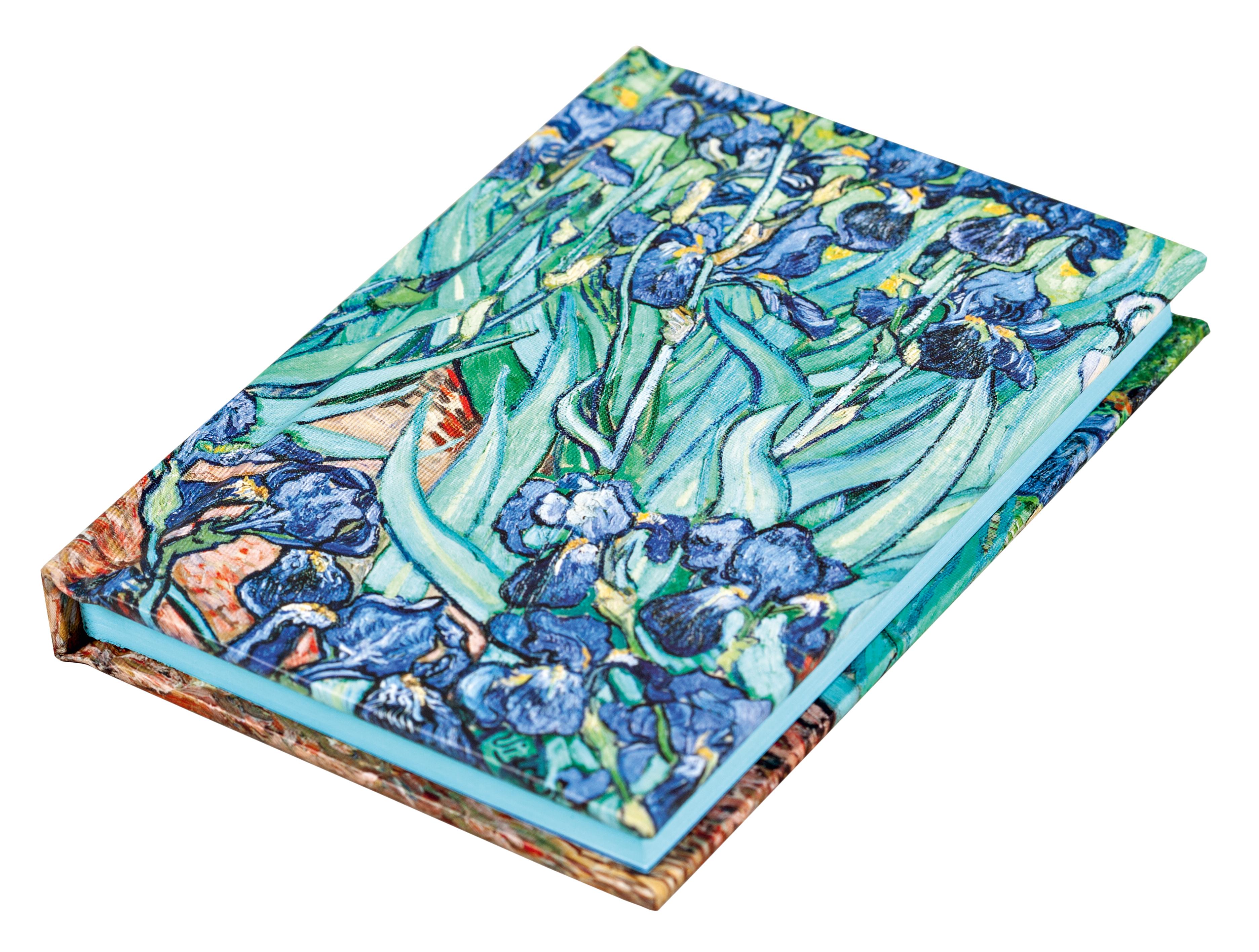 Vincent van Gogh Irises Mini Notebook