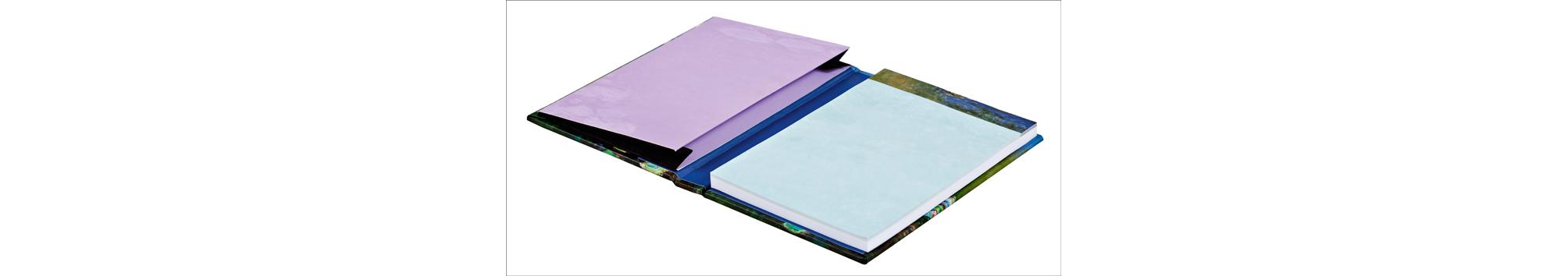 Claude Monet Mini Sticky Book