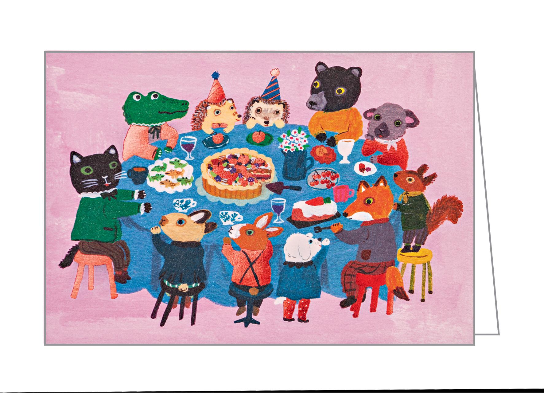 Dinner with Friends, Big Notecard Set