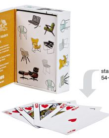 Mid-Century Modern Chairs Playing Cards