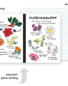 Floriography A5 Notebook