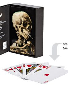 Head of a Skeleton...Playing Cards