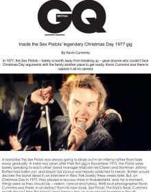 GQ on the Sex Pistols